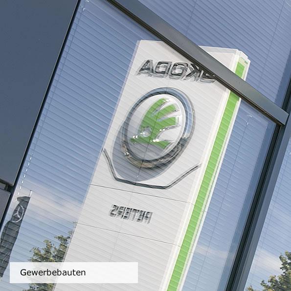 Erweiterung Geschäftsbauten, Autohaus Ribnitz