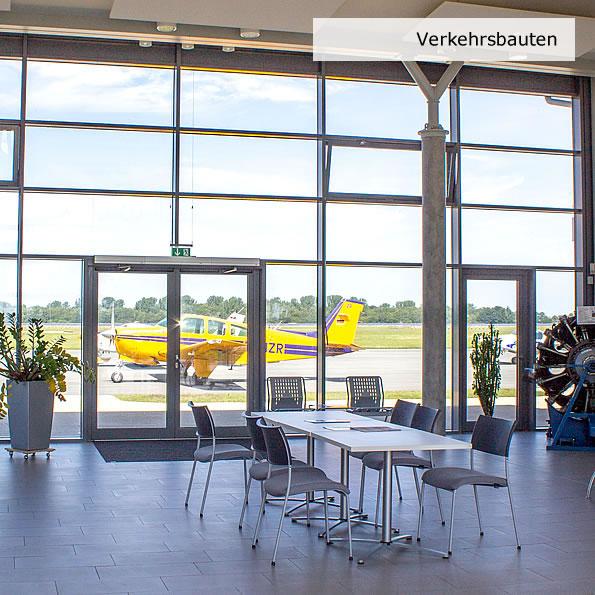 Planung, Sanierung u. Umbau, Flughafen Barth